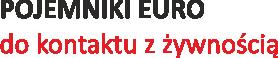 Pojemniki Euro